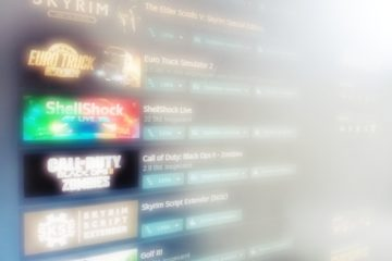 Gaming Steam Library